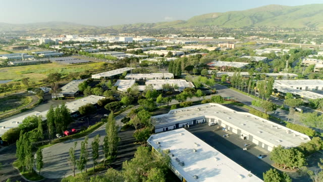 office buildings in milpitas - silicon valley stock videos & royalty-free footage