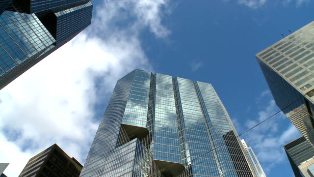 office buildings in toronto - toronto stock videos & royalty-free footage