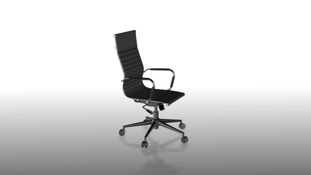 office chair or executive or leader chair - office chair stock videos & royalty-free footage