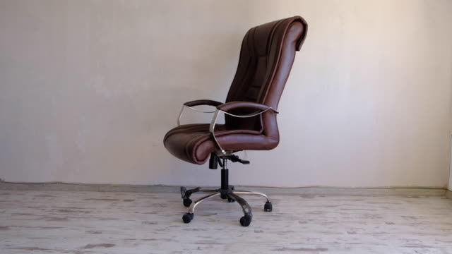 office chair - office chair stock videos & royalty-free footage