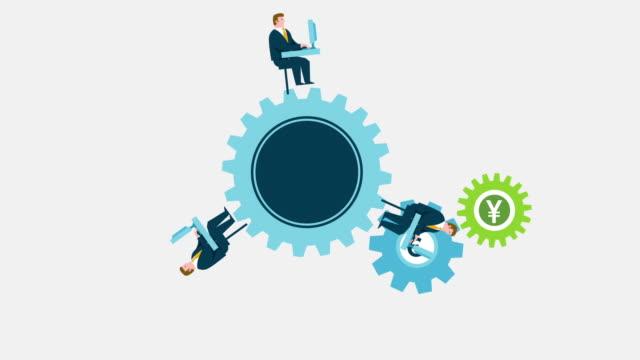 Cogwheel, throw hats and decreasing graph icons set. loan house, gift dream  and stock analysis signs. vector. Cogwheel, throw
