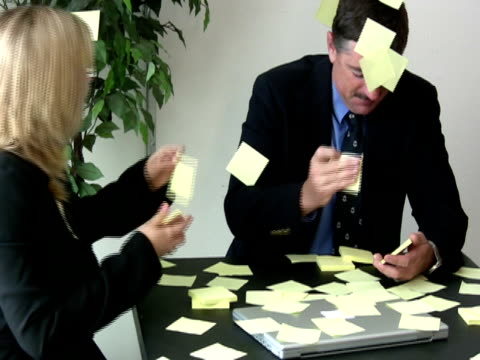 office humor: speed of business - large group of objects stock videos & royalty-free footage