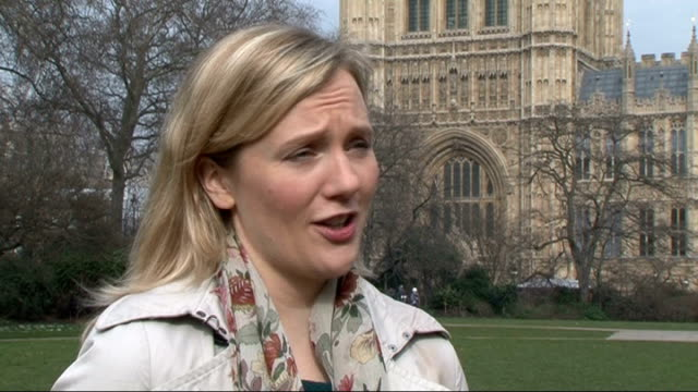 Office of Fair Trading warning to payday loan companies Westminster EXT Stella Creasy MP interview SOT