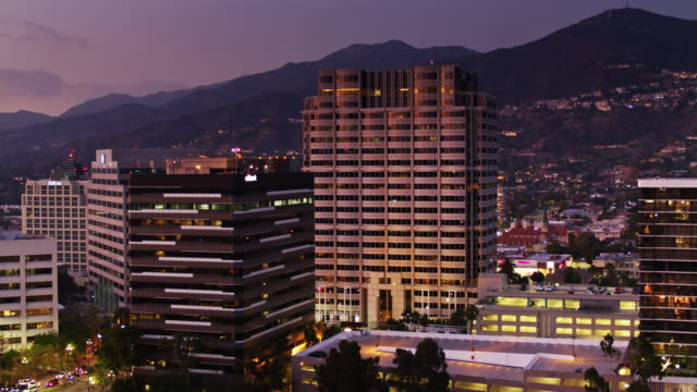 Office Towers in Glendale, CA - Aerial View
