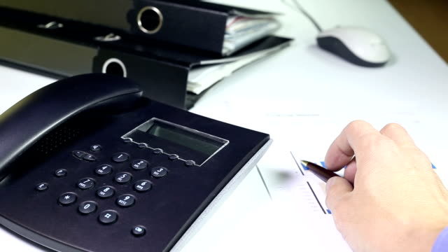 Office - Using a Business Telephone