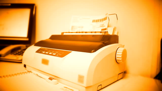 office - fax machine stock videos & royalty-free footage