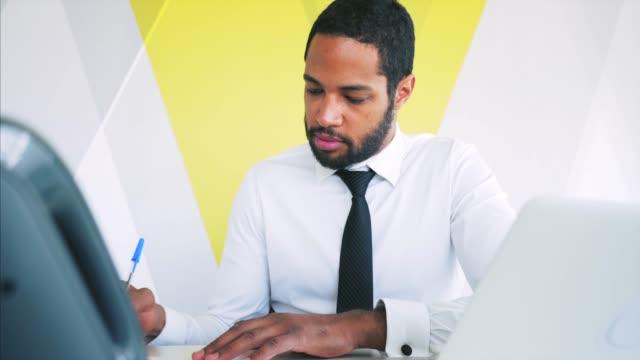 office work. - avvocato video stock e b–roll