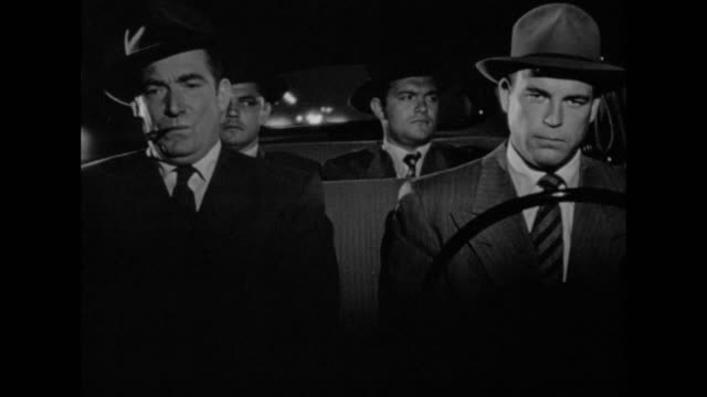1948 officers discuss who will investigate a case - detective stock videos & royalty-free footage