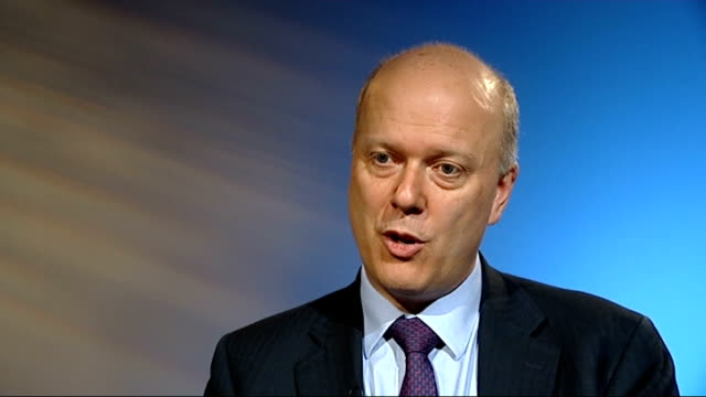 official figures show half of sex offenders and violent criminals avoid prison england london int chris grayling mp interview sot these figures are... - 脱獄する点の映像素材/bロール