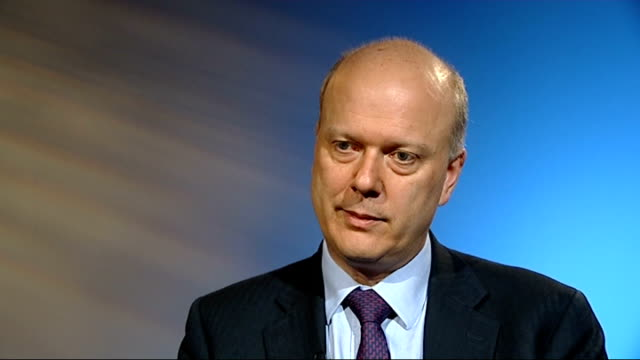 official figures show half of sex offenders and violent criminals avoid prison justice secretary interview england london int chris grayling mp... - gefängnisausbruch stock-videos und b-roll-filmmaterial
