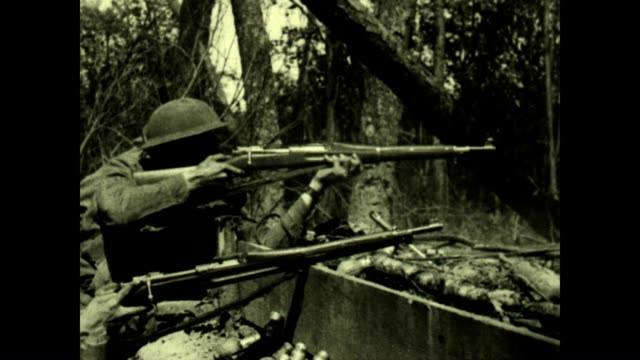 official films of the signal corps of the u.s. army taken under action conditions and service in france. - world war ii stock videos & royalty-free footage