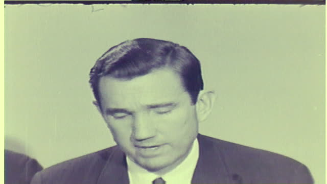 wgn official on investigation after martin luther king jr was assassinated in memphis on april 4 1968 - 1968 stock videos & royalty-free footage