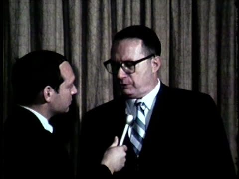 official says vietnam war student protesters trying to destroy society in chicago in a 1969 wgn interview. - beatnik stock videos & royalty-free footage