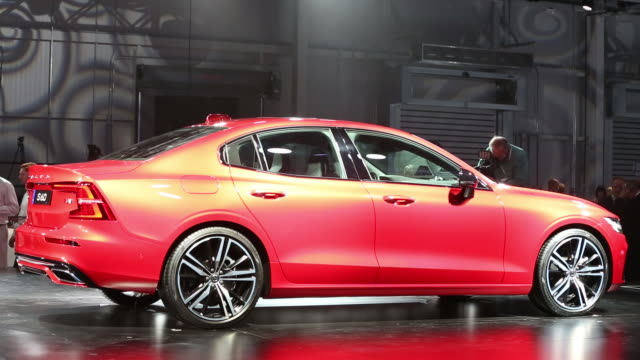 Official Unveiling Of The Volvo S60 At Volvo Cars Usa Plant In Stock Footage Video Getty Images
