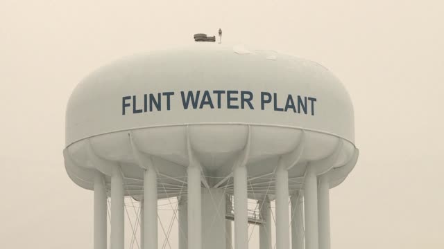 officials in michigan file a lawsuit accusing a french company and a texas firm of negligence and fraud for their roles in the lead water... - michigan stock videos & royalty-free footage