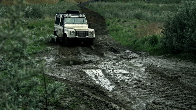 off-road car - 4x4 stock videos & royalty-free footage