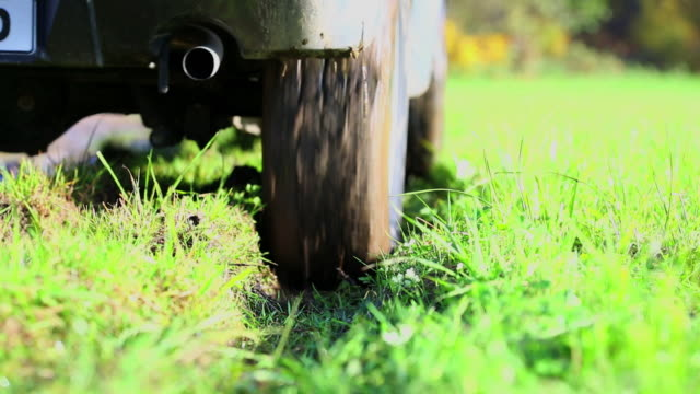 hd off-road vehicle driving through mud (3 clips) - sports utility vehicle stock videos and b-roll footage