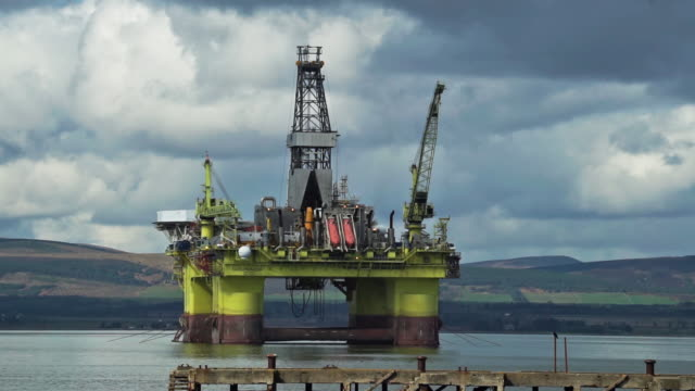 offshore oil platform coslpioneer - gas stock videos & royalty-free footage