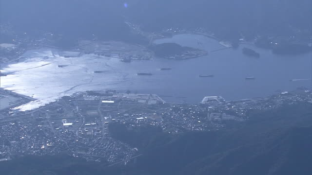 AERIAL, Ofunato Bay, Iwate, Japan
