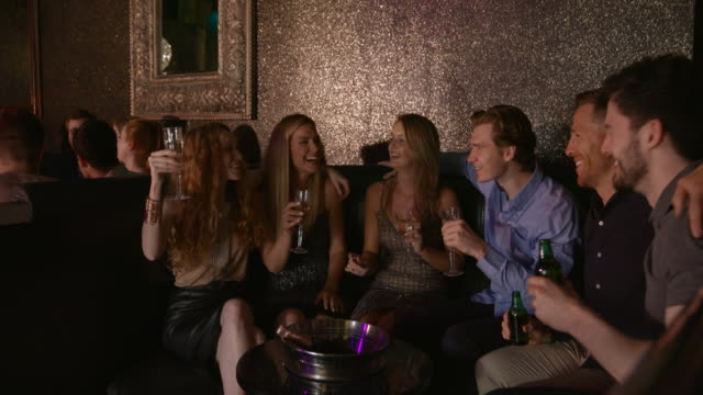 oh what a night - party social event stock videos & royalty-free footage