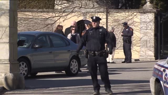 oheka castle owner gary melius was shot in the head by a masked gunman as he entered his vehicle in suffolk county - gunman stock videos and b-roll footage