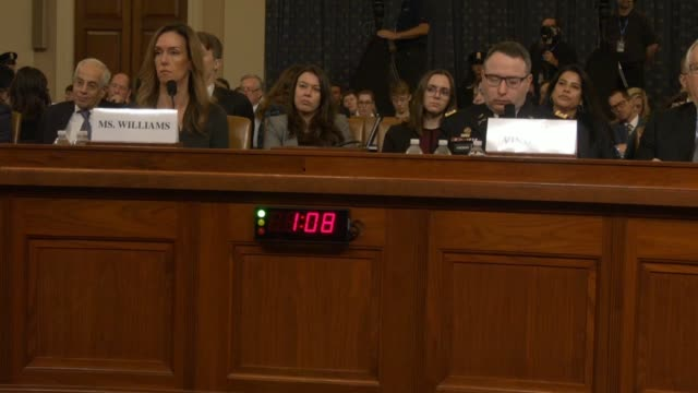 ohio congressman jim jordan recounts at the third house select intelligence committee public impeachment inquiry hearing the lawyer for an... - whistleblower human role stock videos & royalty-free footage