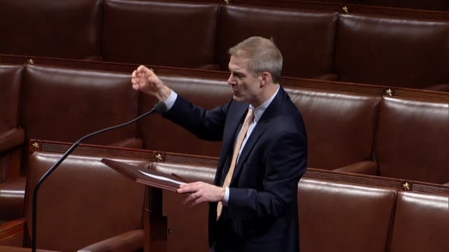 ohio congressman jim jordan says you cannot make up the biggest roundabout ever seen in the classic definition of a swamp with rod rosenstein writing... - page stock-videos und b-roll-filmmaterial