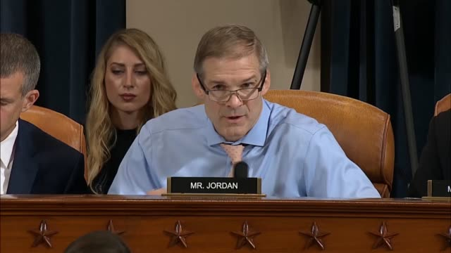 ohio congressman jim jordan tells vice president mike pence aide jennifer williams based on deposition testimony by witness tim morrison that... - whistleblower human role stock videos & royalty-free footage
