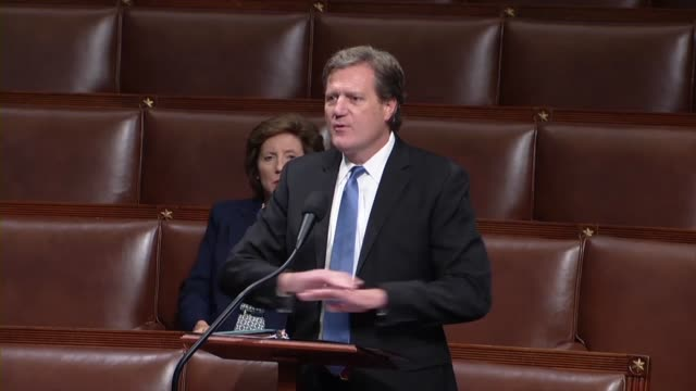ohio congressman michael turner says in debate on an amendment to the fiscal 2020 national defense authorization that the bill had a requirement for... - united states department of defense stock videos and b-roll footage