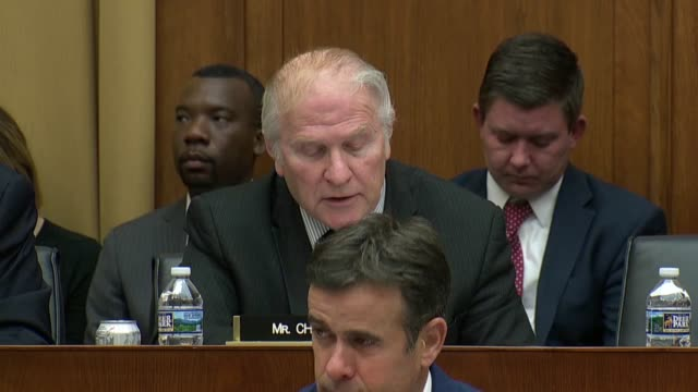 ohio congressman steve chabot of the house judiciary committee tells fbi director christopher wray that former fbi director bob mueller was put in... - christopher a. wray stock videos & royalty-free footage