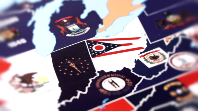 Ohio from USA States