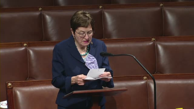 ohio representative marcy kaptur says during a rare session day amid the coronavirus pandemic that testing requires a national strategy and not a 50... - throttle stock videos & royalty-free footage