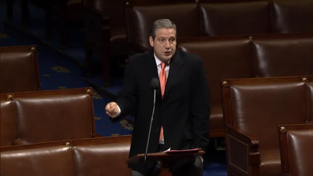 Ohio Representative Tim Ryan yells at times in an impassioned floor speech a day after Senate leaders delayed consideration of a health care reform...