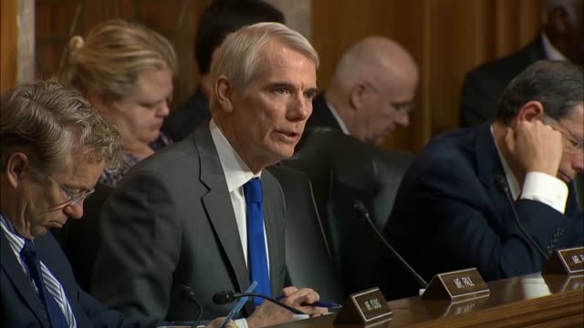 ohio senator rob portman says at a senate foreign relations committee hearing on us policy towards russia that the ukrainian revolution of dignity... - domination stock videos & royalty-free footage