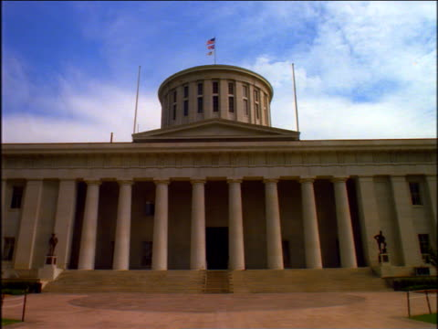 ohio state capitol - government building stock videos & royalty-free footage