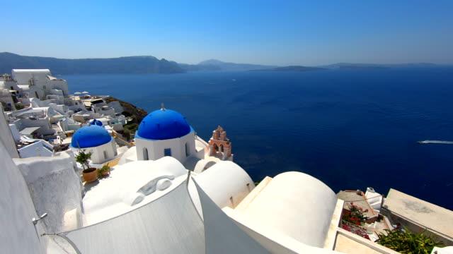 oia - santorini, greece - oia santorini stock videos & royalty-free footage