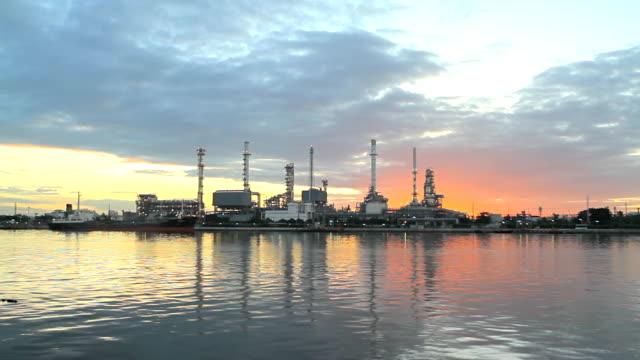 Refinería de petróleo y de productos químicos, fábrica