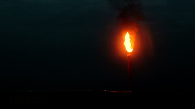 oil and gas pollution, black cloud of smoke - iraq stock videos & royalty-free footage