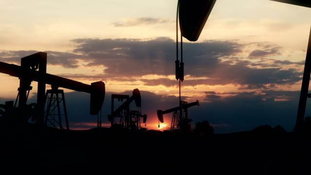 oil field | 4k - machine part stock videos & royalty-free footage