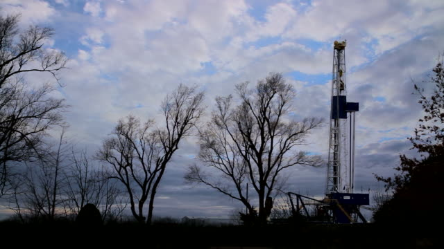 oil fracking in kansas - fracking stock videos and b-roll footage