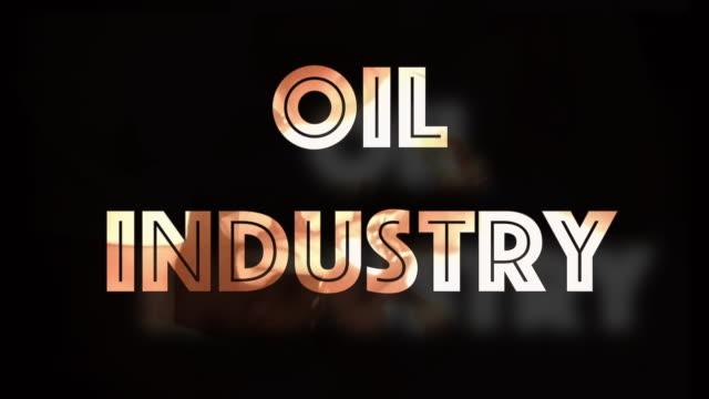 oljeindustrin global nedgång datorgrafik - oljeindustri bildbanksvideor och videomaterial från bakom kulisserna