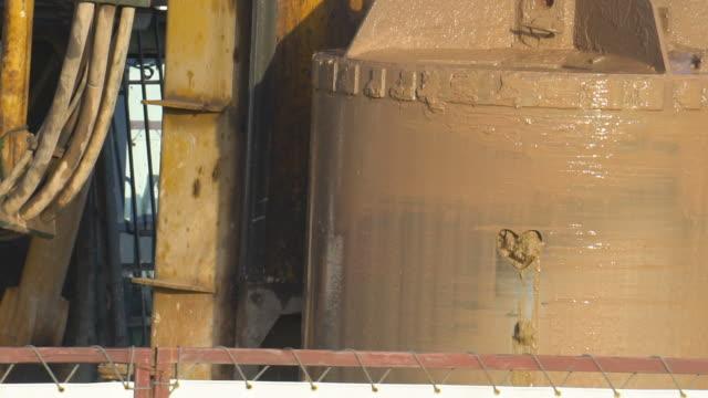 oil industry - argillite video stock e b–roll