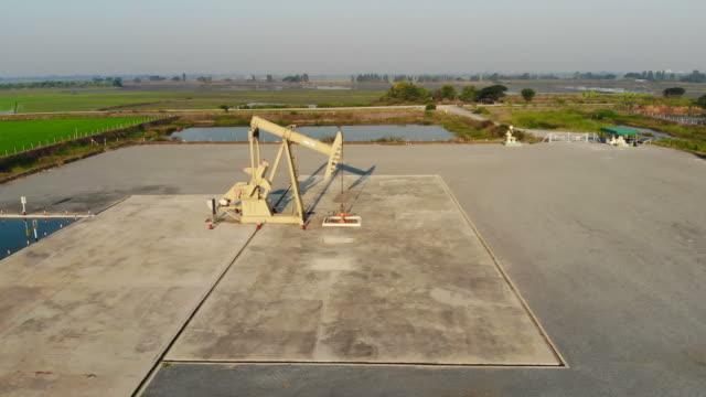 oil industry - pump jack stock videos & royalty-free footage