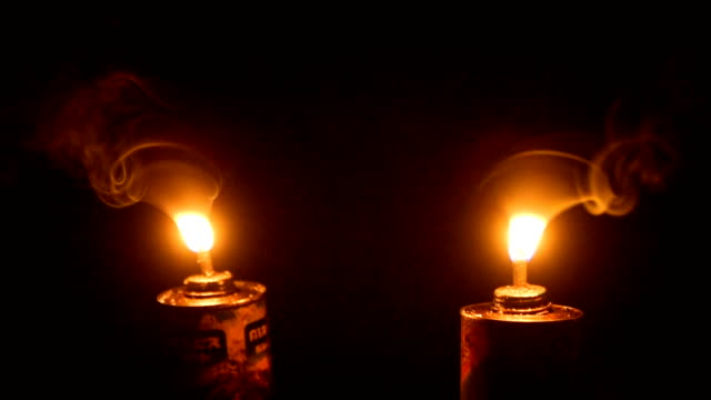oil lamp at night - oil lamp stock videos & royalty-free footage
