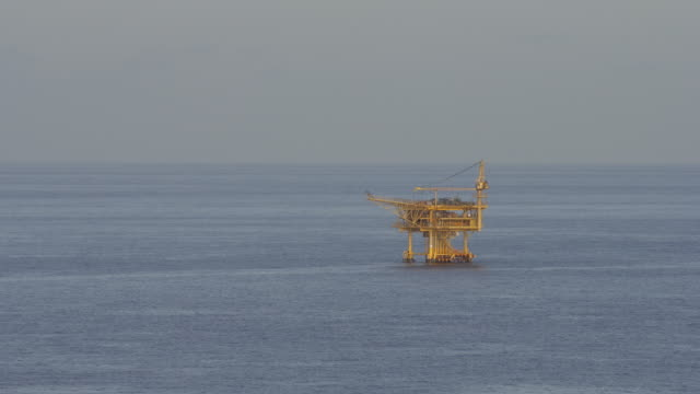 oil production platform - oil rig stock videos and b-roll footage