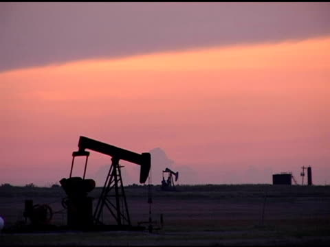 oil pumps - well structure stock videos and b-roll footage