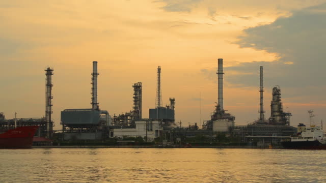 oil refinery industry - fuel storage tank stock videos and b-roll footage