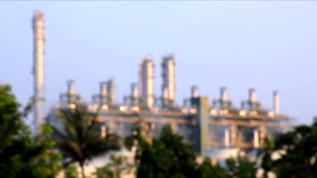 oil refinery plant working - boiler stock videos & royalty-free footage