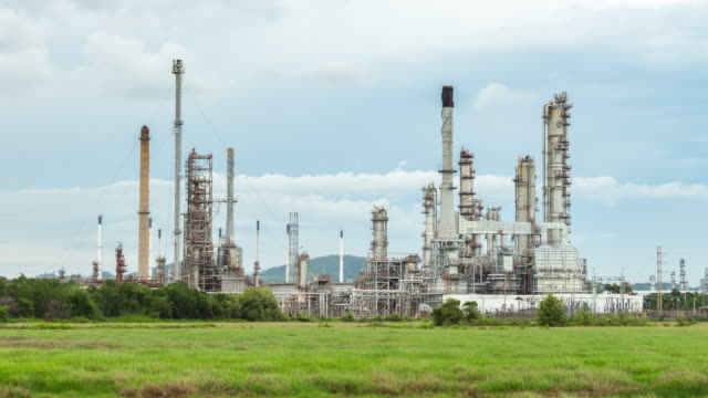 Óleo refinaria Estação de planta Petroquímica de