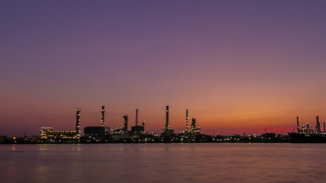 Olie raffinaderij Twilight